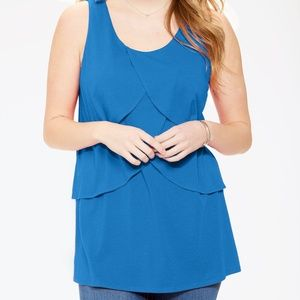 Layered Tunic Tank Cotton/Rayon